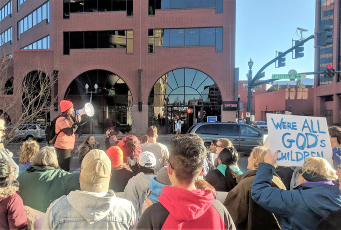 Community March in Colorado Springs