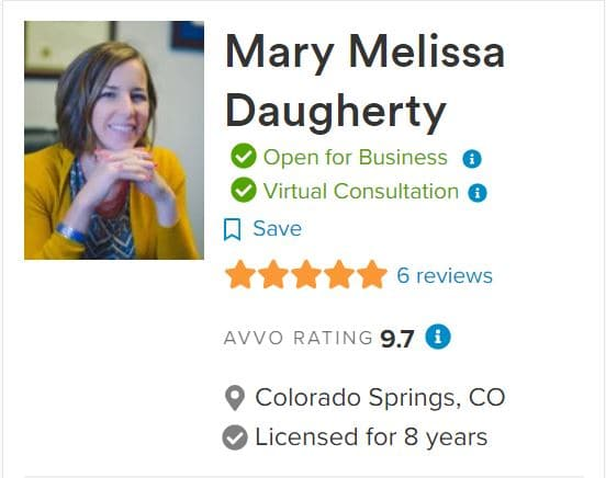 Mary Daugherty Colorado Springs Divorce Attorney